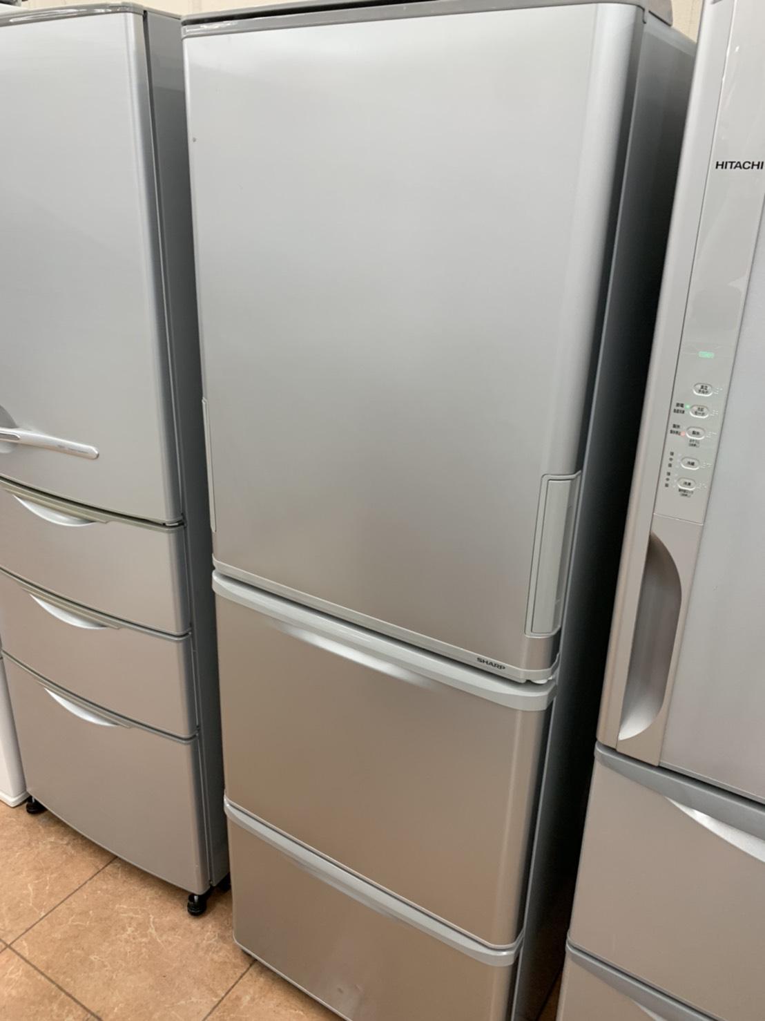 2016年製/SHARP/シャープ/350L冷蔵庫/SJ-W351C-S/どっちもドアをお買取りさせて頂きました!!の買取-
