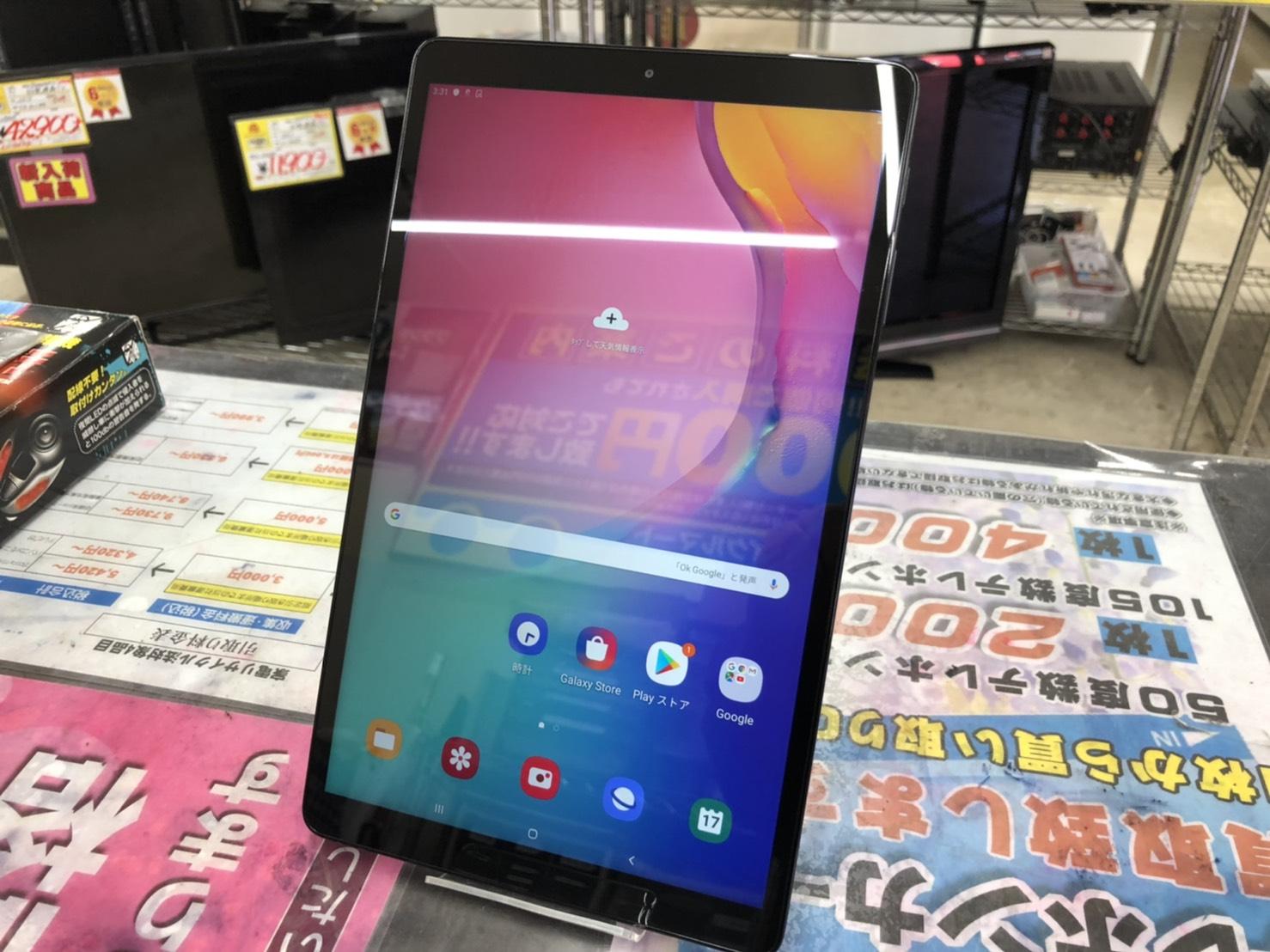 Samsung サムスン Galaxy Tab A 10.1 2019年モデル SM-T510 Android タブレット をお買取させて頂きました!!の買取-