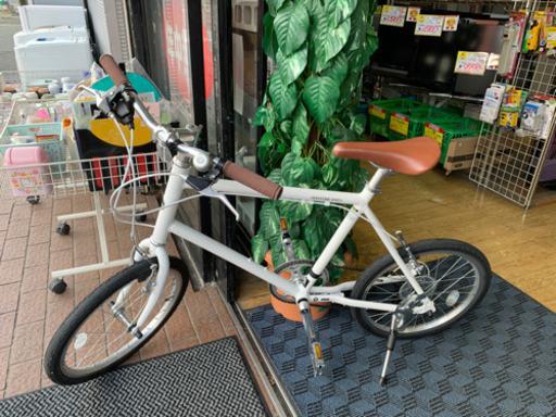 【WEEKEND BIKES 20インチ 自転車 20-G 白 ミニベロ】お買取しました!の買取-