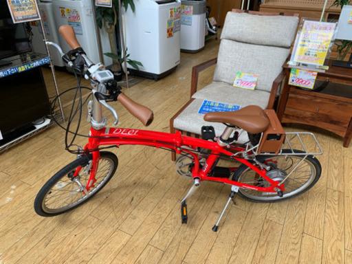 【極美品 DAYTONA DE01 20インチ折り畳み電動アシスト自転車 デイトナ ミニベロ】お買取りしました!の買取-