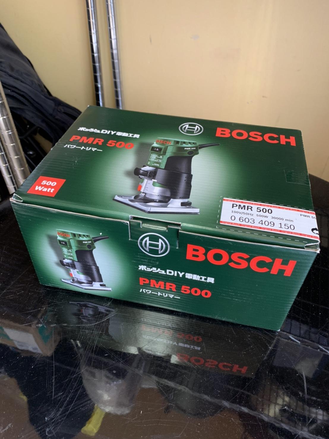 未使用/電動工具/BOSCH/パーワートリマー/PMR-500をお買取させて頂きました!!の買取-