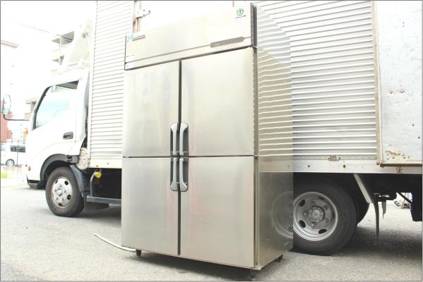ホシザキ 業務用4ドア冷凍庫の買取-