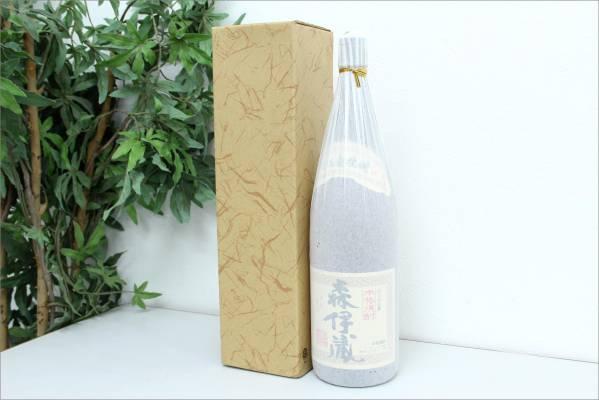 (久留米市) 【未開栓】 芋焼酎 さつま 森伊蔵 1800ml 25度 箱付きの買取-