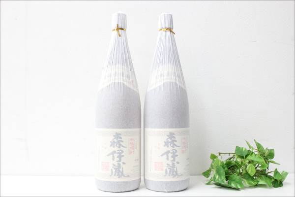 未開栓 本格焼酎 森伊蔵 芋焼酎 1.8L 1800ml 2本セットの買取-34000