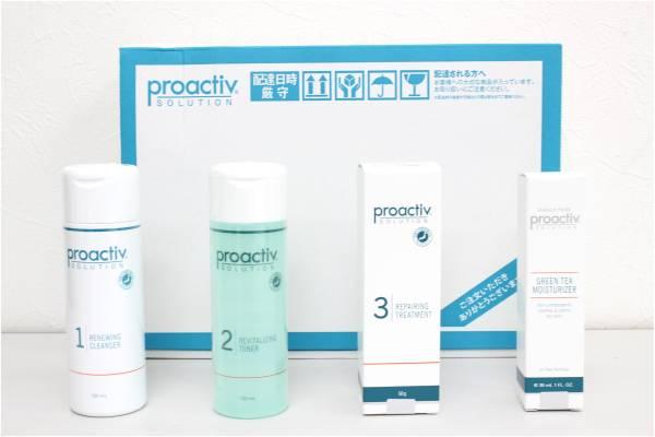 (福岡市中央区)  未使用 プロアクティブ 4点セット 化粧水 洗顔料 クリームの買取-1200