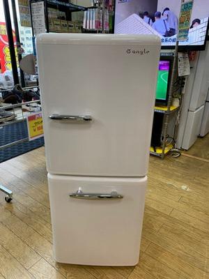 【⭐️美品⭐️2020年製 E angle 149L冷蔵庫 レトロStyle インバーター ANG-RE151-A1 イーアングル エディオンオリジナル】お買取りしました!の買取-