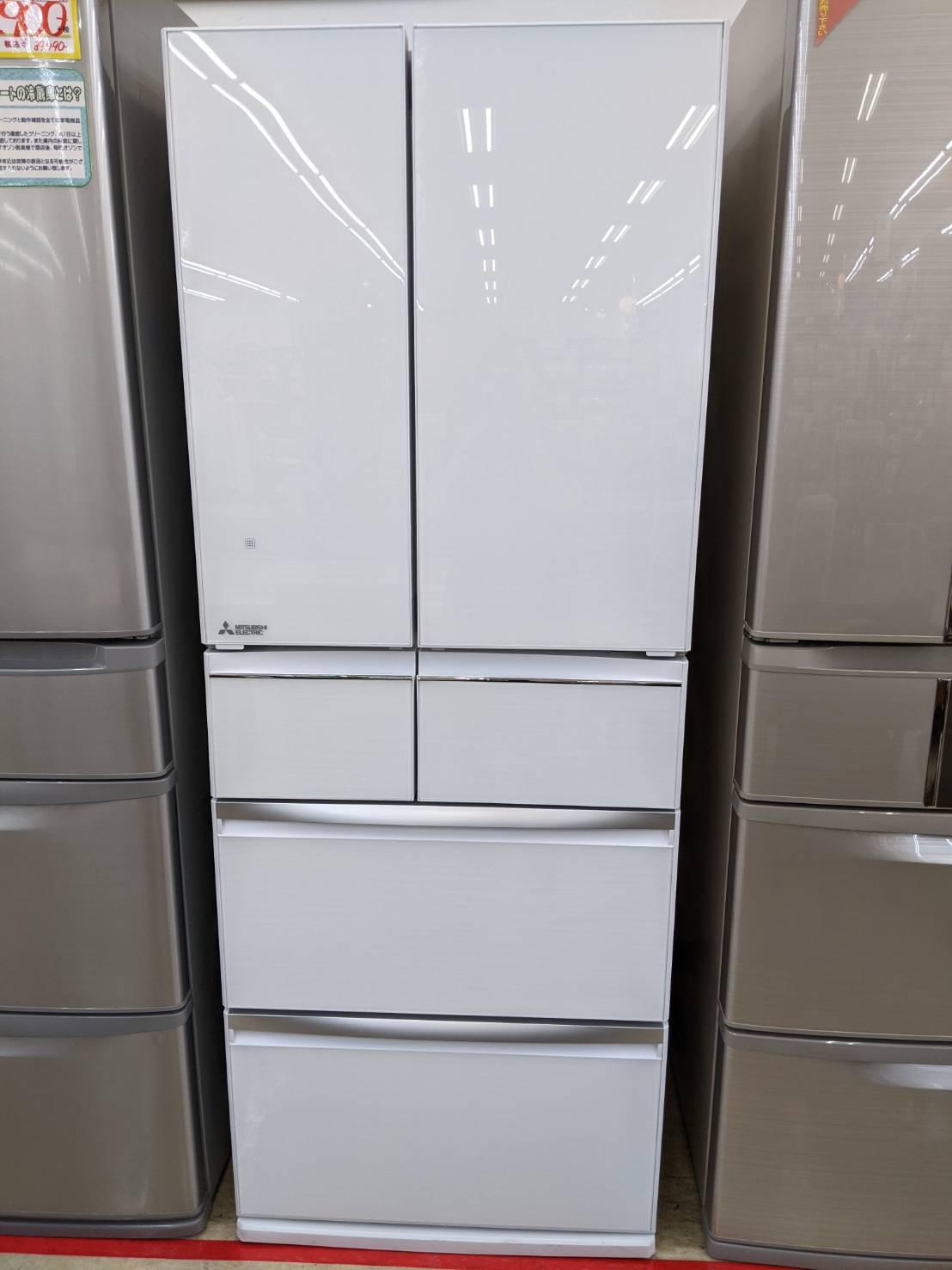 【2018年製 MITSUBISHI 470L冷蔵庫 MR-WX47LD-W 三菱】お買い取り致しました!!の買取-