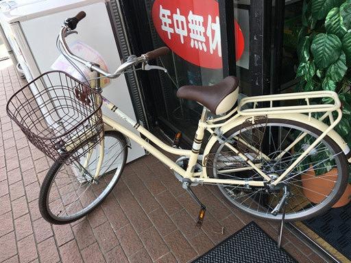 【Asahi購入 Fiona 24インチ自転車 6段変速ギア】お買取しました!の買取-