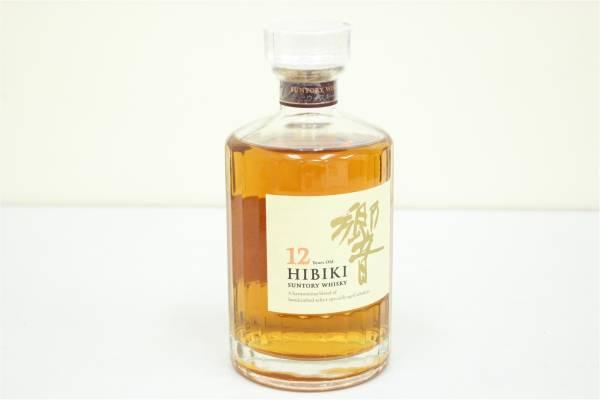 (福岡市中央区)箱有り サントリー ウイスキー 響 12年 700ml 43%の買取-6000