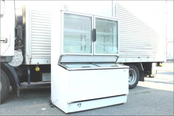 サンヨー デュアル冷凍ショーケース SCR-D120Nの買取-