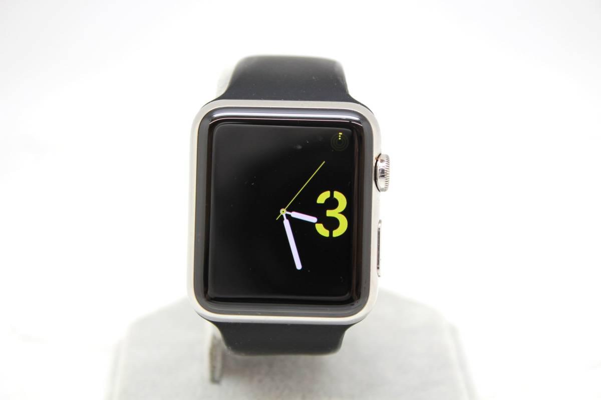 apple/アップル MJ442J/A Apple watch/アップルウォッチ 第1世代 42mm スマートウォッチ 腕時計 シルバーを買取りさせて頂きました!!の買取-