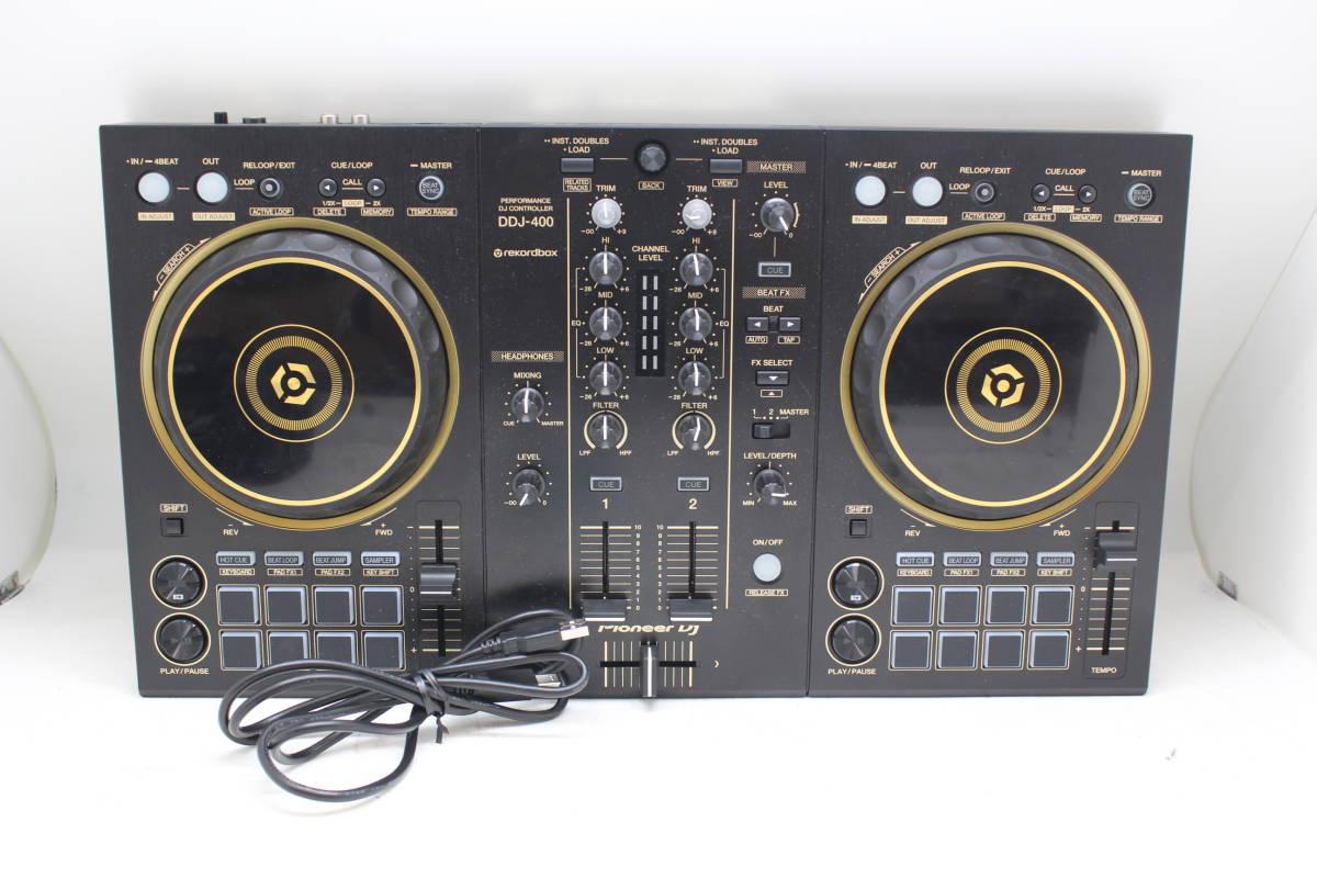 Pioneer/パイオニア DDJ-400 rekordbox 2ch DJ コントローラーを買取りさせて頂きました。の買取-