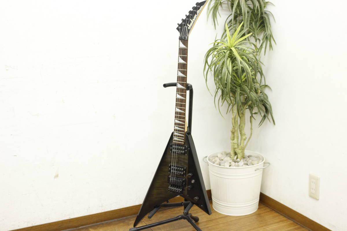 【Jackson Stars ジャクソンスターズ エレキギター 変形 V型 ジャンク品】お買取りしました!の買取-