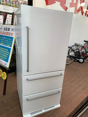 【⭐️深沢直人氏監修⭐️2017年製 無印良品 272L冷蔵庫 MJ-R27A-1 MUJIRUSHI】お買取りしました!の買取-