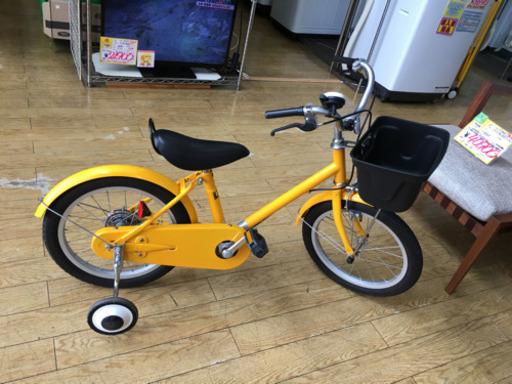 【美品 無印良品 16インチ 幼児用 子供用 自転車 黄】お買取りしました!の買取-
