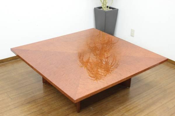 (福岡市中央区)IDC 大塚家具 スプレンダー バーズアイ メープル センターテーブルの買取-18000