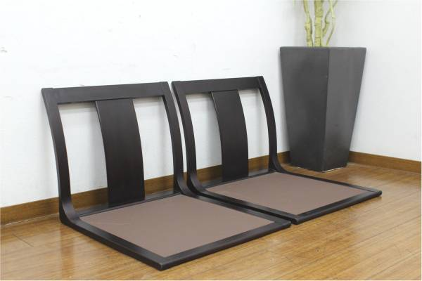 (福岡市早良区)tendo 天童木工 座椅子 2脚セットの買取-6000