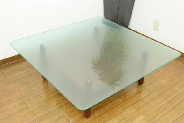 (糸島市)arflex アルフレックス GATTO ガラステーブルコーヒーテーブルの買取-12000