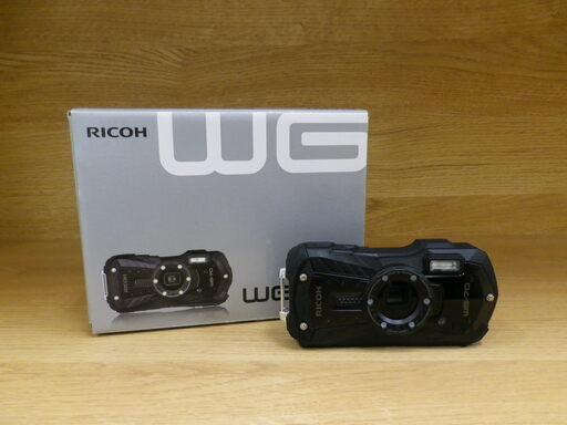 【 RICOH リコー デジタルカメラ タフネス 防水 防塵 WG-70 アクションカメラ コンデジ 】をお買取り致しました。の買取-
