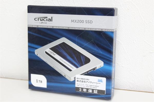 新品 Crucial MX200 SSD 1TBの買取-
